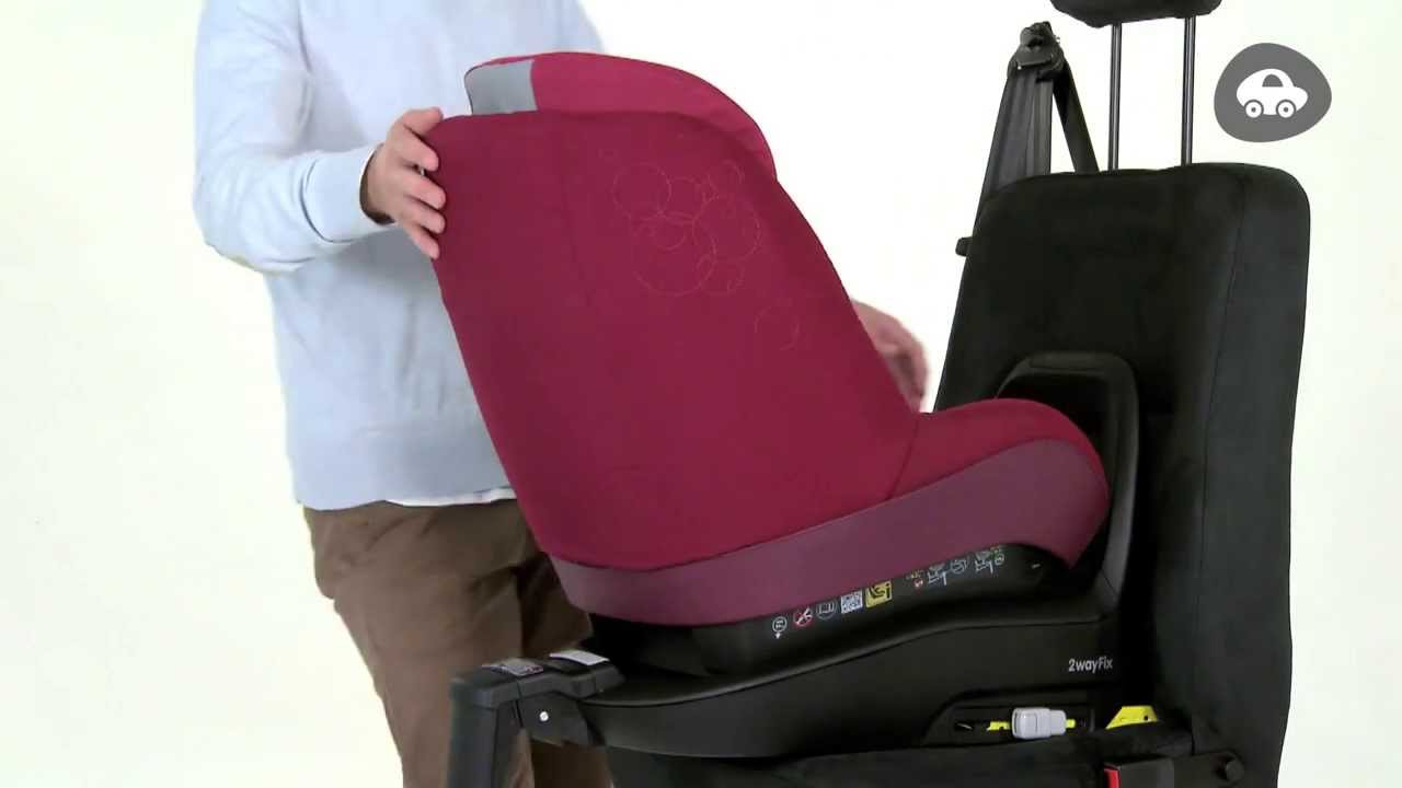 maxi cosi 2waypearl how to install on your isofix 2wayfix base youtube. Black Bedroom Furniture Sets. Home Design Ideas