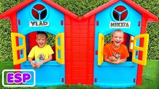Vlad y Niki juegan con juguetes - Mejor serie para niños