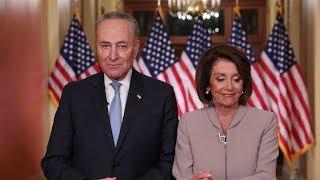 Pelosi and Schumer's response to Trump's shutdown address
