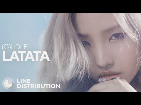 (G)I-DLE - LATATA (Line Distribution)