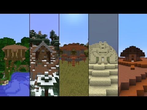 5 Starter Houses in Minecraft! - www.noonews.ru on