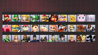If Smash Had ONLY 30 Characters!