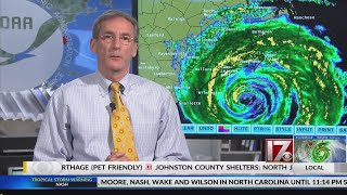 National Hurricane Center officials give update on Florence