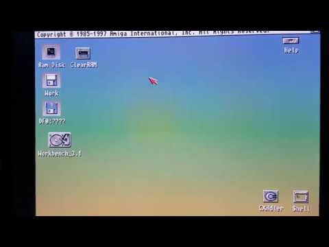 Actualizando el ratón del Commodore Amiga a uno óptico.