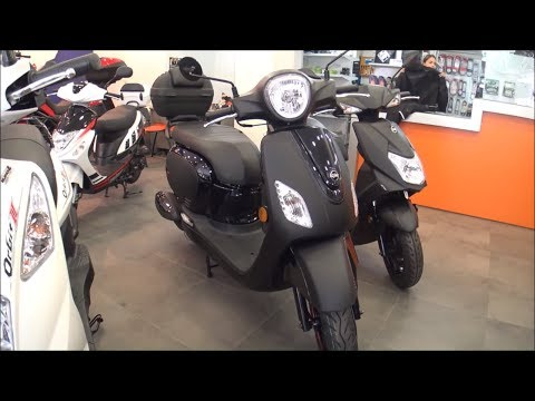 SYM Fiddle 50cc scooter 2019