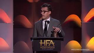 Joe Wright Accepts the Director Award - HFA 2017