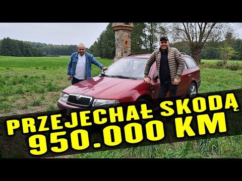 Przejechał Skodą Octavią 950 tysięcy kilometrów!