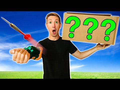 FOUND HACKER & MONSTER IN POND vs SPY GADGETS & NINJA WEAPONS MYSTERY BOX Challenge Unboxing Haul