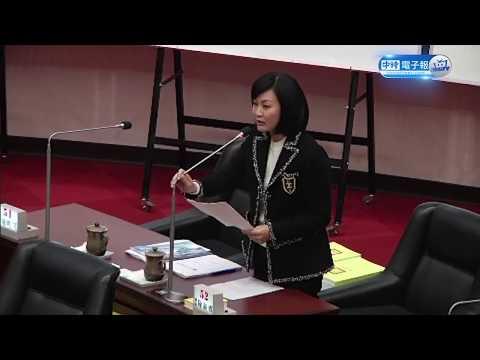 2018 01 18 陳麗娜高雄市議會質詢 台上報告完整片段