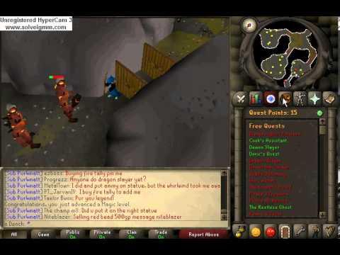 Runescape 2007 - Fire Giants - o Dench - YouTube