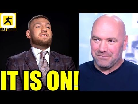 Conor McGregor just accepted Dana White's offer to fight on Jan 23 against Dustin Poirier,Costa,Hall
