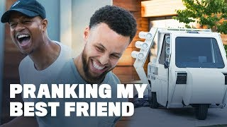 Stephen Curry Pranks His Best Friend with the Ugliest Car Ever