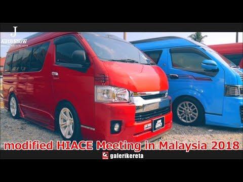 modified HIACE Meeting in Malaysia 2018 by Galeri Kareta - カスタムハイエースミーティングinマレーシア