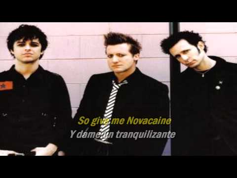 Green Day - Give Me Novacaine (Subtitulado Español E Ingles)