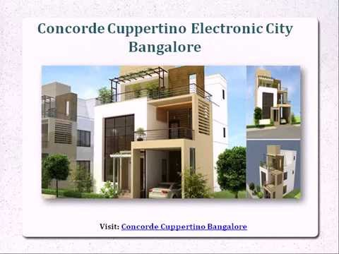 Concorde Cuppertino Bangalore ₹ 1.36 Cr