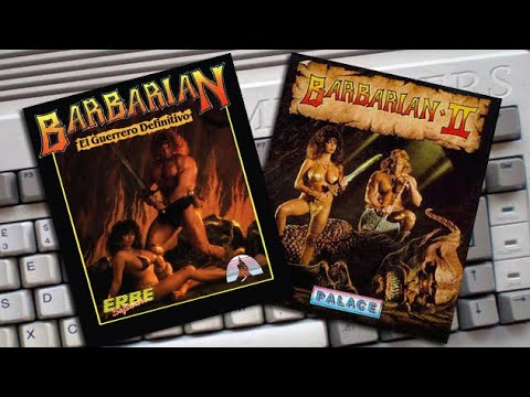 Amigamers #039 Barbarian: The Ultimate Warrior & Barbarian II: Dungeon of Drax #Amigamers T.V.