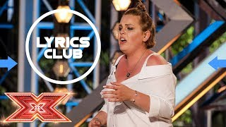 Rebecca Grace - Piece by piece - The X Factor 2017 - Auditions Week 2 - Lyrics by LyricsClub