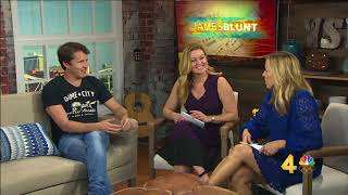 Interview with James Blunt on Today in Nashville