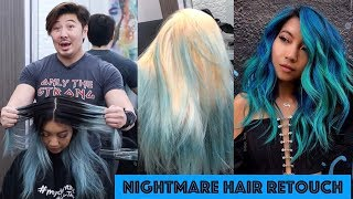 NIGHTMARE HAIR RETOUCH!