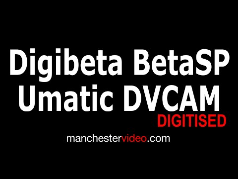 Legacy Broadcast Tape Digitising Service UK