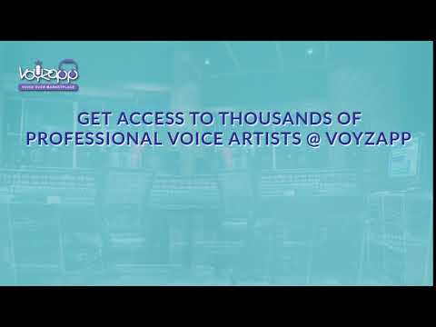 Voyzapp - Browse professional voice actors, listen, compare prices and hire instantly!