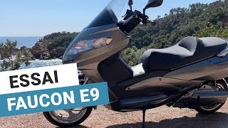 Faucon e9+ : notre essai vidéo du scooter électrique 125