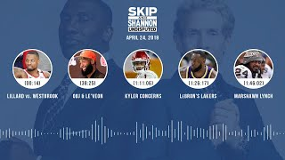 UNDISPUTED Audio Podcast (04.24.19) with Skip Bayless, Shannon Sharpe & Jenny Taft   UNDISPUTED