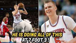 How KRISTAPS PORZINGIS Became an NBA Unicorn!