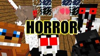 Monster School : ALL HORROR EPISODE - Minecraft Animation