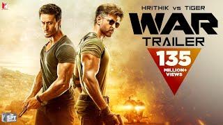 War 2019 Movie Trailer – Hrithik Roshan – Tiger Shroff