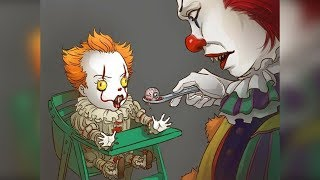 """30+ """"Pennywise The Clown"""" Hilariously Funny Comics To Make You Laugh 2."""