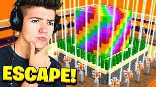 CAN YOU ESCAPE THE RAINBOW CUBE in MINECRAFT...?