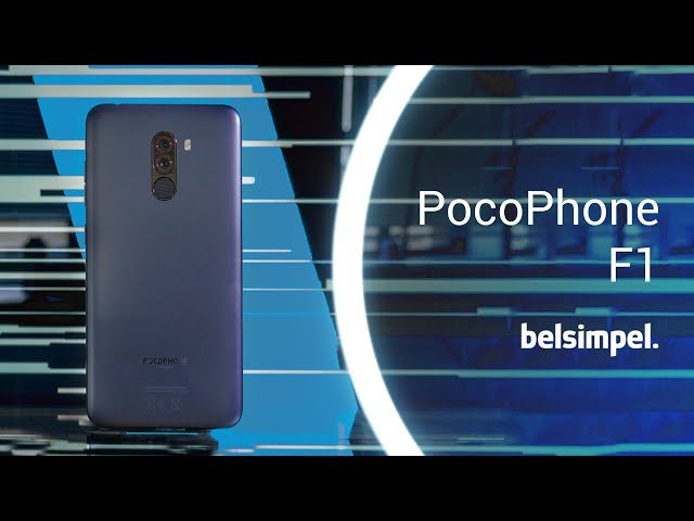 Belsimpel-productvideo voor de Xiaomi Pocophone F1 128GB Red