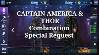 [[ Captain America & Thor Combination Special Request ]] Marvel Future Fight HINDI INDIA
