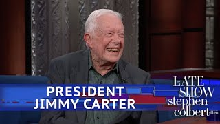 President Jimmy Carter Is Still Praying For Donald Trump