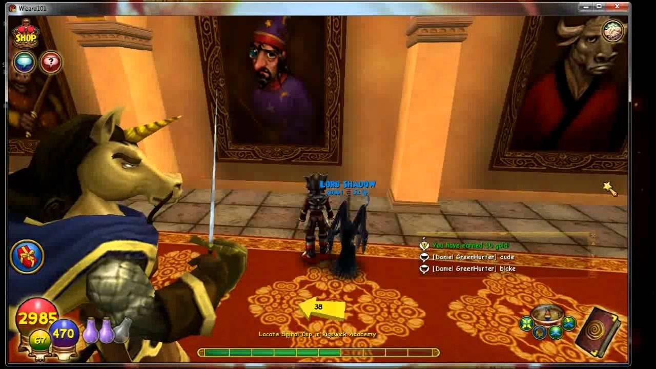 Wizard101 wysteria storyline quests - Laura bushell film