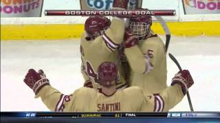 Boston College vs. Northeastern - 2014 Beanpot Championship Highlights