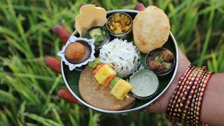 Miniature Punjabi Thali   Punjabi Thali Recipe   Miniature Cooking #20   mini foodkey