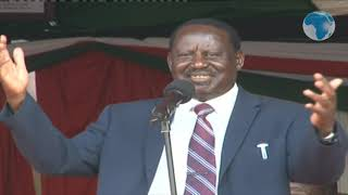 ODM leader Raila's speech at the launch of Kisii Hospital Project