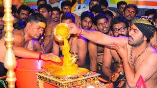Sharwananda dancing at Ayappa Swamy pooja..