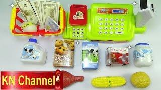 Đồ chơi trẻ em Máy tính tiền siêu thị Supermarket Cash Kids toys