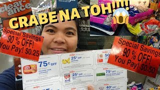 BUHAY AMERIKA:CLEARANCE SHOPPING & GROCERY HAUL WITH COUPONS!! FIL-AM FAMILY VLOG