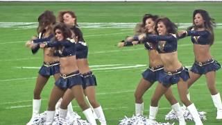 Los Angeles Rams Cheerleaders Pre-Game Dance Routine (Twickenham Stadium, London 22/10/17)