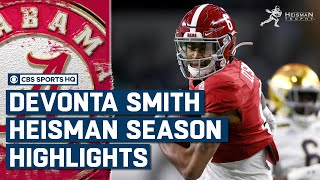 DeVonta Smith: Highlights from his Heisman Season | CBS Sports HQ