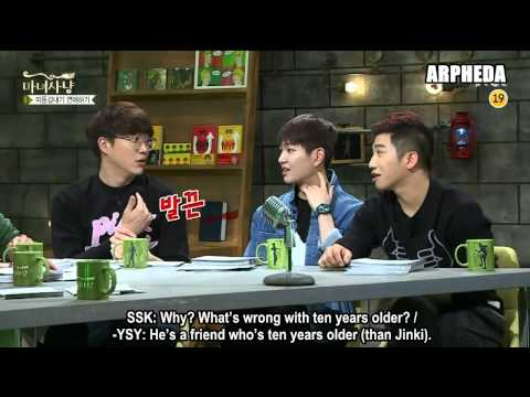 [ENG SUB] 150605 SHINee Onew & Taemin - Witch Hunt cut (Couple that's 12 years apart in age)