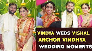 Watch: IPL Fame Telugu Anchor Vindya and Vishal Wedding Un..