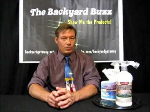 The Backyard Buzz...on GreenClean FX products from BioSafe Systems