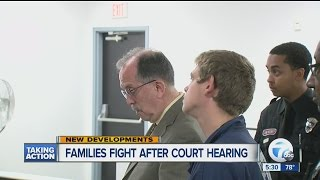 Families fight after court hearing in murder
