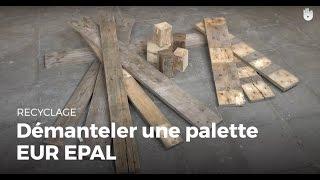 Fabriquer des meubles avec des palettes en bois recycl es - Comment defaire une palette ...