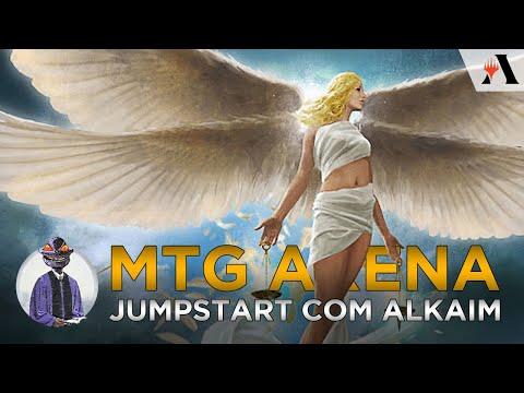 MTG Arena EP 07 - Jumpstart com Alkaim
